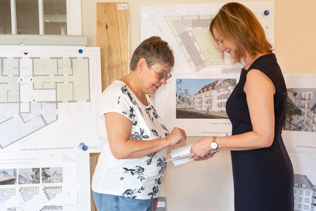 sandburg projekt | Claudia Stolzenburg | Immobilien in Babelsberg